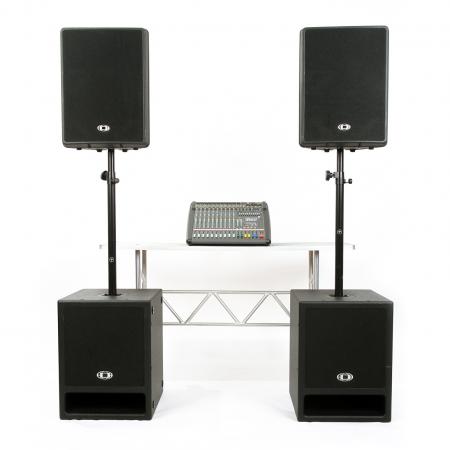 Professionele geluidset 175.45  Shop»Huren»Geluid